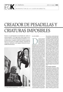 Creador de Pesadillas y Criaturas Imposibles