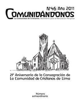 Numero Extraordinario - La Comunidad de Cristianos