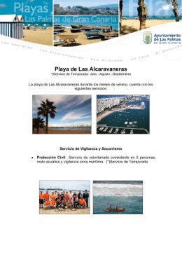 Playa de Las Alcaravaneras - Ayuntamiento de Las Palmas de Gran