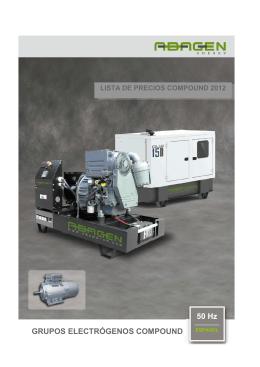 X - Abamotor Energía,SL Grupos electrógenos, motobombas
