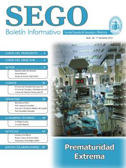 1. - Sociedad Española de Ginecología y Obstetricia