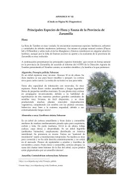 Apendice 2 Flora y Fauna PAT
