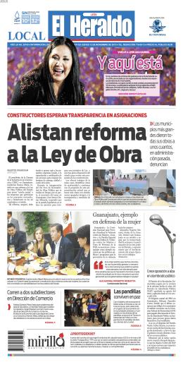 Pagina PDF para CTP - El Heraldo de León