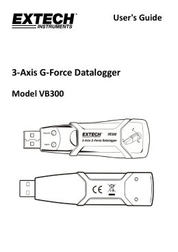 3-Axis G-Force Datalogger