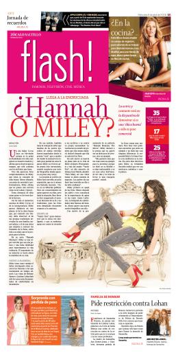 Hannah Montana o Miley Cyrus?
