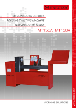 Catálogo MT150A