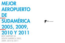 Memoria Anual 2011 - Aeropuerto Internacional Jorge Chávez