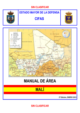 MANUAL DE ÁREA MALÍ - Estado Mayor de la Defensa