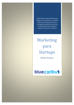 Ebook Guía de Marketing Para Startups