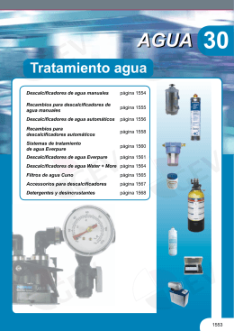 Tratamiento agua - gev