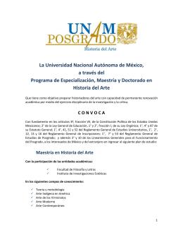 La Universidad Nacional Autónoma de México, a través del