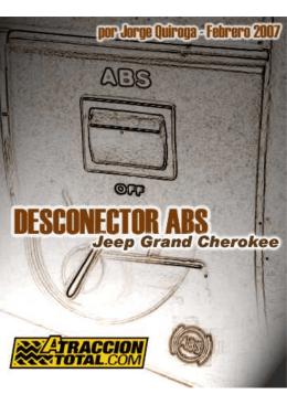 Desconectador de ABS en un GRAND CHEROKEE
