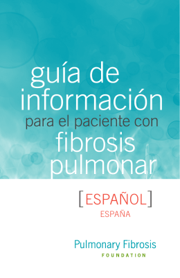 España - Pulmonary Fibrosis Foundation