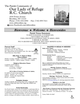 June 17, 2012 - Our Lady of Refuge Church