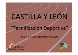 Comunidad Autónoma de Castilla y León.