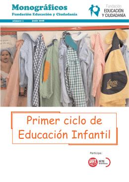 Primer ciclo de Educación Infantil - FETE-UGT