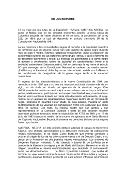 América Negra 5 - Pontificia Universidad Javeriana