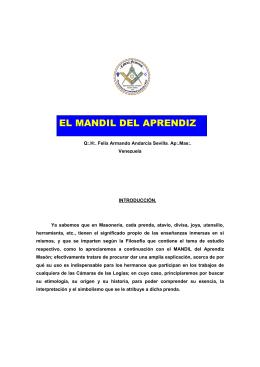EL MANDIL DEL APRENDIZ