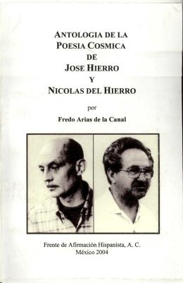 antologia de la poesia cosmica de jose hierro y nicolas del hierro