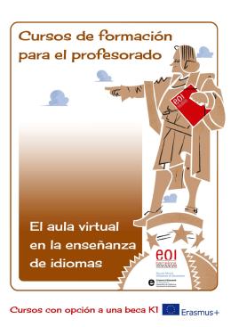 A quién va dirigido el curso - Escola Oficial d`Idiomes de Barcelona
