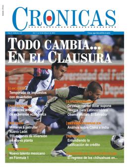 CRONICAS - Edicion 113 - 31 de enero de 2011.pmd