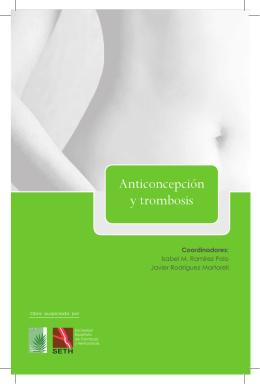 Anticoncepción y trombosis - Sociedad Española de Contracepción