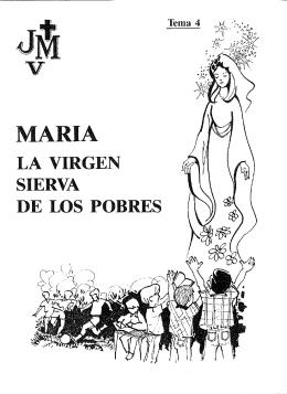 María, la Virgen sierva de los pobres