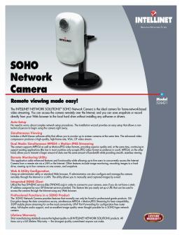 SOHO Network Camera