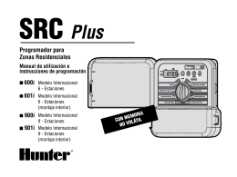SRC Plus - Hunter Industries