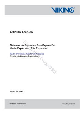 Sistemas de Espuma - Distribuidora San Martín de Matafuegos Drago