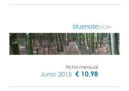FICHA BLUENOTE SICAV JUNIO 2015