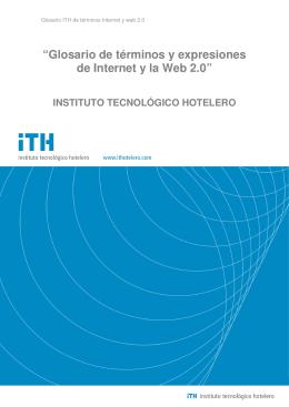 """""""Glosario de términos y expresiones de Internet y la Web 2.0"""""""