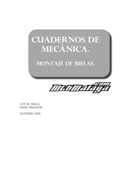 Cuadernos de mecánica