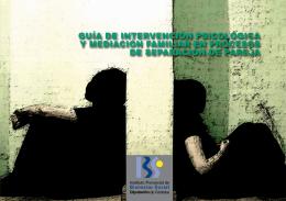 Guía de Intervención Psicológica y Mediación Familiar en Procesos
