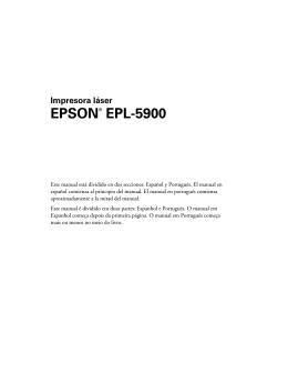 EPSON® EPL-5900