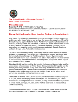 12/7/2012 - School District of Osceola County