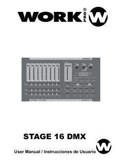 STAGE 16 DMX – Manual
