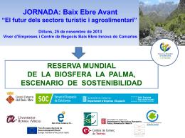 Reserva Mundial de la Biosfera La Palma TURISMO