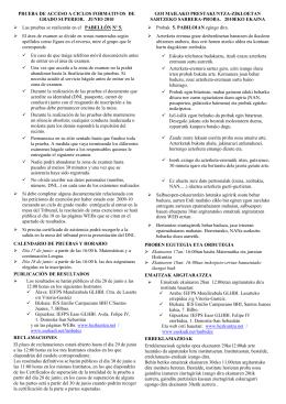 PRUEBA DE ACCESO A CICLOS FORMATIVOS DE GRADO