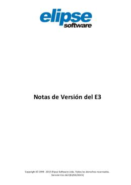 2 Versión 4.6 - Elipse Software