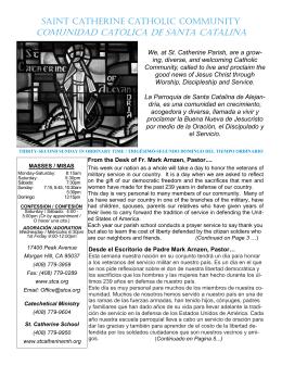 comunidad católica de santa catalina