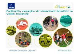 Planificación estratégica de instalaciones deportivas en Castilla