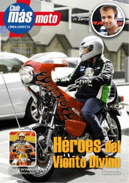 revista Club más moto en PDF