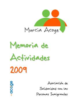 Memoria 2009 – Documento PDF