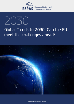 Global Trends to 2030: Can the EU meet the challenges ahead?