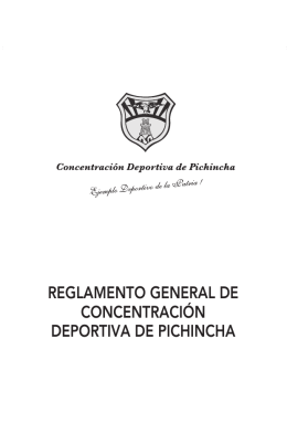 Descargue aquí el archivo pdf. - Concentración Deportiva de