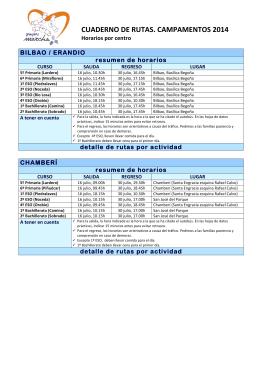 Detalle Rutas Verano 2014 - solo horarios-1 - Maristas
