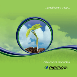 A1 - CATALOGO CHEMINOVA