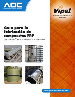 Guía para la fabricación de compuestos FRP