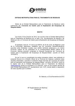 Descargar Convenio de Alaquàs-Aldaia. Archivo PDF